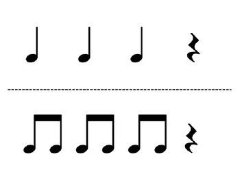 Rhythm Flashcard Kit: ta rest