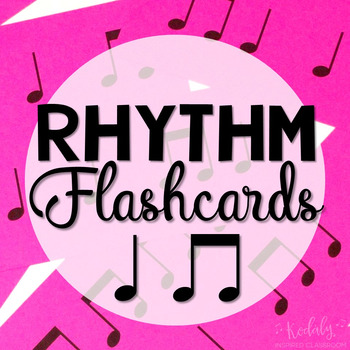 Rhythm Flashcard Kit: ta titi