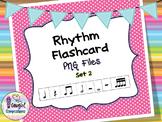 Rhythm Flashcard PNG Files Set 2