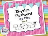 Rhythm Flashcard PNG Files Set 3