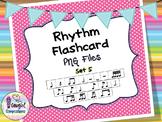Rhythm Flashcard PNG Files Set 5