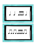 Rhythm Flashcards (1st-2nd)