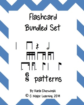 Rhythm Flashcards Bundled Set