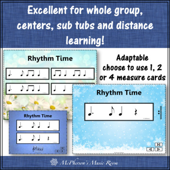 Rhythm Flashcards {Dotted Quarter Note} Interactive Rhythm Flash Cards