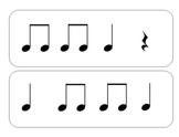 Rhythm Flashcards - Beginner Level