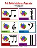 Rhythm Flashcards: Fruit Theme