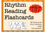 Rhythm Flashcards (Half Note/Quarter Note/Eighth Notes/Rest)
