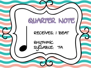 Rhythm Flashcards Level 1 & 2