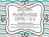 Rhythm Flashcards Level 1 & 2