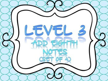 Rhythm Flashcards Level 3 & 4