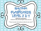 Rhythm Flashcards Level 3 & 4