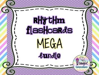 Rhythm Flashcards MEGA Bundle