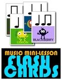 Music Mini Lesson: Rhythm Flashcards