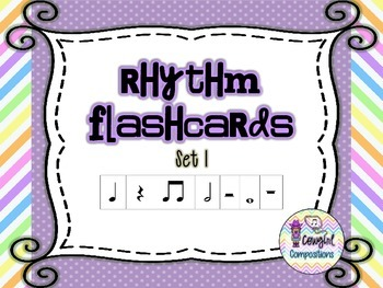 Rhythm Flashcards Set 1