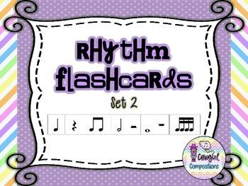 Rhythm Flashcards Set 2