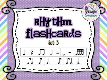 Rhythm Flashcards Set 3
