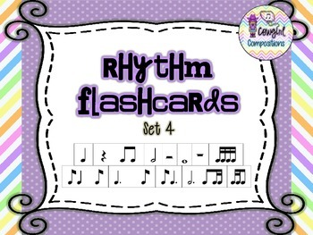 Rhythm Flashcards Set 4