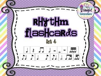 Rhythm Flashcards Set 4