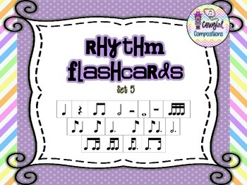 Rhythm Flashcards Set 5