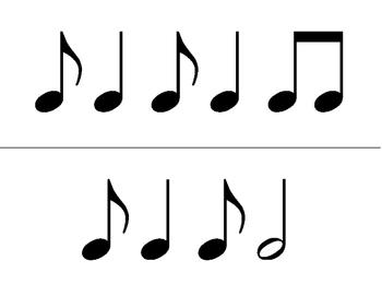 Rhythm Flashcards - Syncopa