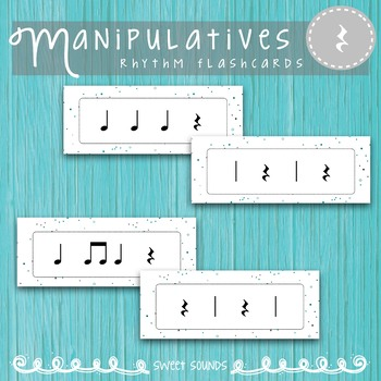 Rhythm Flashcards {Level One Bundle}