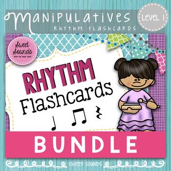 Rhythm Flashcards {Level One Bundle}