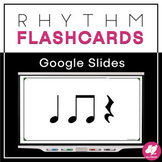 Rhythm Flashcards: Ta, Tadi/Titi, Rest - GOOGLE SLIDES