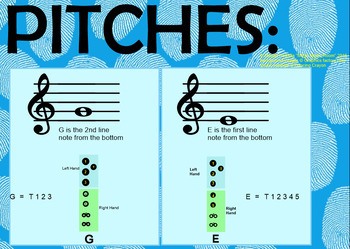 Rhythm Flashcards for Recorder - Notes E and G - Elementary Music Smart Board