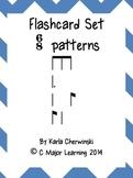 Rhythm Flashcards six eight meter