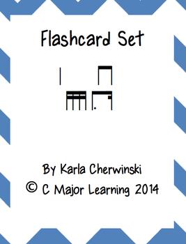 Rhythm Flashcards tim-ka (dotted eighth sixteenth)