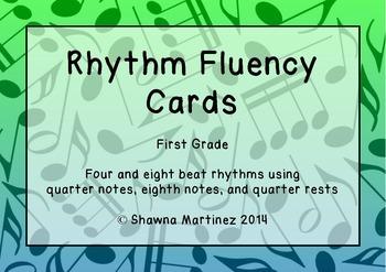 Rhythm Fluency: First Grade