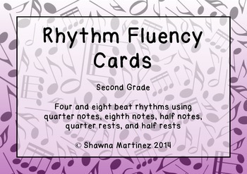 Rhythm Fluency: Second Grade
