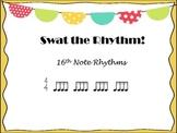 Swat the Rhythm - 16th note rhythms