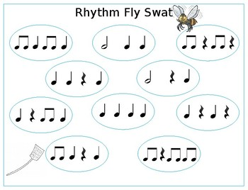 Rhythm Fly Swat Games