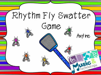 Anytime of the Year Fly Swatter Rhythm Game