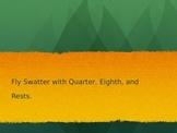 Rhythm Fly Swatter Game (Stick Notation)