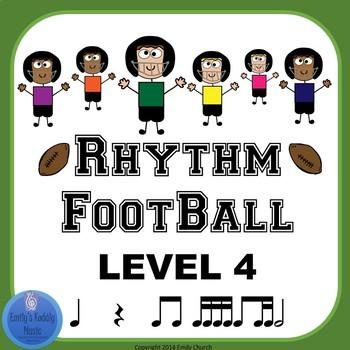 Rhythm Football Level 4: Eighth-Two Sixteenths