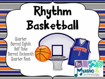Rhythm Basketball (Barred Sixteenth Notes)