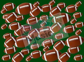 Rhythm Football (Barred Sixteenth Notes)