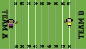 Rhythm Football- Interactive Football Field Scoring Aid