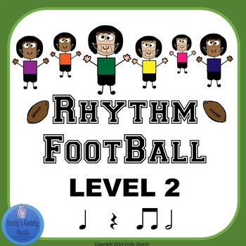 Rhythm Football Level 2: Half Note