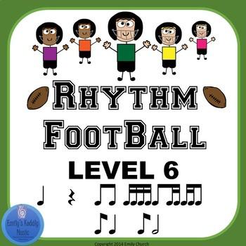 Rhythm Football Level 6: Eighth-Quarter-Eighth (Syncopa)