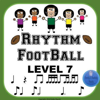 Rhythm Football Level 7: Dotted Quarter- Eighth