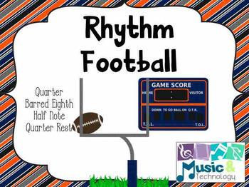 Rhythm Football (Rhythms with half notes)