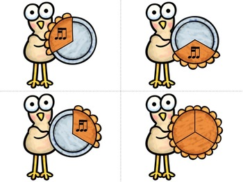 Rhythm Fraction Turkeys!