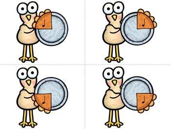 Thanksgiving: Rhythm Fraction Turkeys!