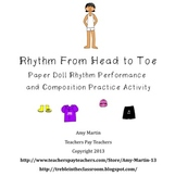 Rhythm From Head to Toe:Rhythm Activity for Smart Notebook
