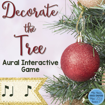 Rhythm Game: Decorate the Tree {Syncopation}