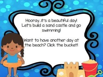 Rhythm Game: Let's Go to the Beach {Ta and Ti-Ti}