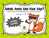 Rhythm Game: What Does the Fox Say?